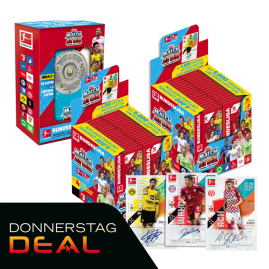 Bundesliga Match Attax 20-21 - Megapack. Autogrammkarte in jedem 3. Megapack!