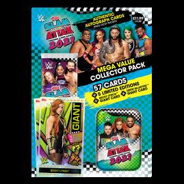 WWE Slam Attax 2021 - Collector Pack (Grün & Blau Dose)