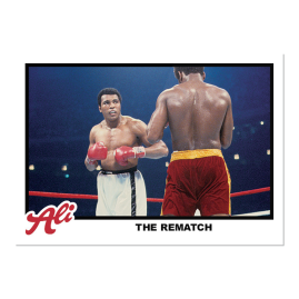 2021 Topps UK  MUHAMMAD ALI - The People's Champ Card #71