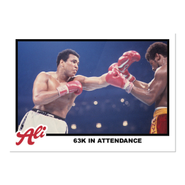 2021 Topps UK MUHAMMAD ALI - The People's Champ Card #72