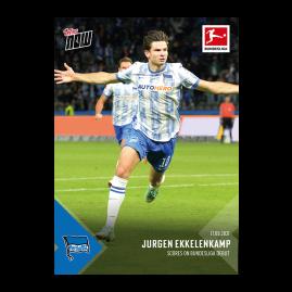 Goal on Bundesliga debut  - Bundesliga TOPPS NOW® UK Card #28