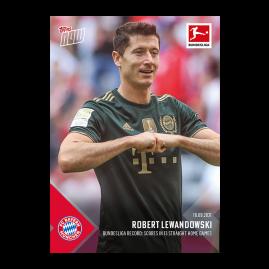 Bundesliga record: Scores in 13 straight home games  - Bundesliga TOPPS NOW® UK Card #30