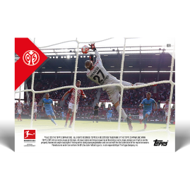 Brilliant save in the the last seconds  - Bundesliga TOPPS NOW® UK Card #31