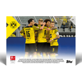 Club record as BVB score in 37 consecutive Bundesliga matches  - Bundesliga TOPPS NOW® UK Card #32