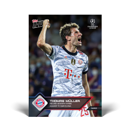 Record seventh strike against FC Barcelona - UCL TOPPS NOW® UK Card #17