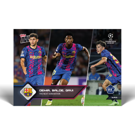 The next generation - UCL TOPPS NOW® UK Card #18