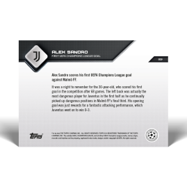 First UEFA Champions League Goal - UCL TOPPS NOW® UK Card #19