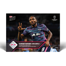 Scores the club's first UEFA Champions League hat-trick - UCL TOPPS NOW® UK Card #21