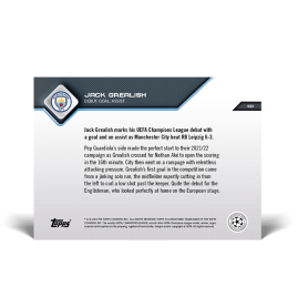 Debut. Goal. Assist.  - UCL TOPPS NOW® UK Card #23