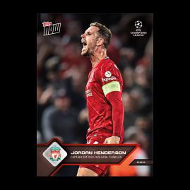 Captain settles 5-goal thriller - UCL TOPPS NOW® UK Card #25