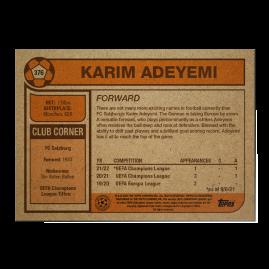 Topps UK - UCL Living Set Card #376 - Karim Adeyemi