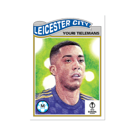 Topps ES - UCL Living Set Card #378 -  Youri Tielemans