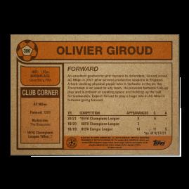 Topps DE- UCL Living Set Karte #386 - Olivier Giroud