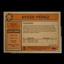 Topps ES - UCL Living Set Card #387 -  Ayoze Perez