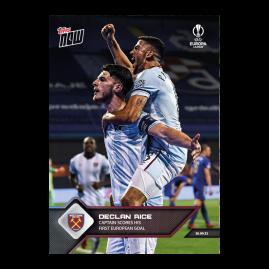 Captain scores his first European Goal - EL TOPPS NOW® UK Card #2