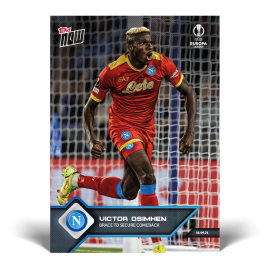 Brace to secure comeback - EL TOPPS NOW® UK Card #3