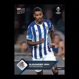 First European Goal - EL TOPPS NOW® UK Card #4