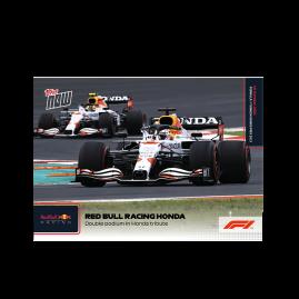 Double podium in Honda tribute - F1 TOPPS NOW® DE Card #62