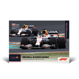 Double podium in Honda tribute - F1 TOPPS NOW® ES Card #62