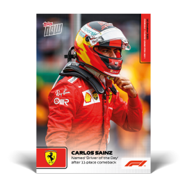 Named Driver of the Day after 11-place comeback - F1 TOPPS NOW® DE Card #63