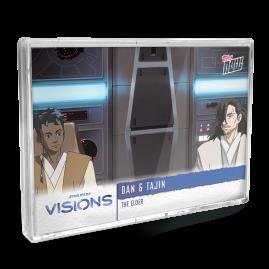 2021 Star Wars Visions TOPPS NOW® - DE - 5-Card Pack - The Elder