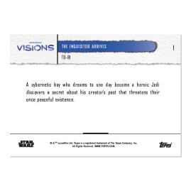 2021 Star Wars Visions TOPPS NOW® - DE - 5-Card Pack - T0-B1