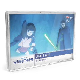 2021 Star Wars Visions TOPPS NOW® - DE - 5-Card Pack - The Ninth Jedi