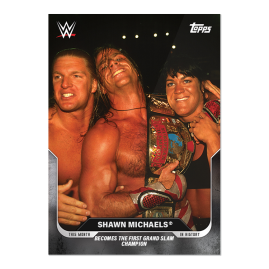 9/20/1997  Shawn Michaels® - This Moment in WWE History - UK Card 29