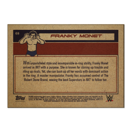 Topps ES WWE Living Set® Carta #68 - Franky Monet
