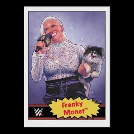 Topps FR WWE Living Set® Carte #68 - Franky Monet