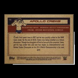 Topps DE WWE Living Set® Karte #75 - Apollo Crews