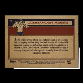 Topps DE WWE Living Set® Karte #76 - Commander Azeez