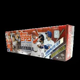 2021 Topps MLB Komplettset (rote Box)
