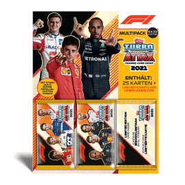 F1 Turbo Attax 2021 - Multipack
