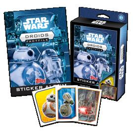 Star Wars Fact File Box - Droids