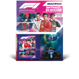 F1 Stickers 2021 - Multipack