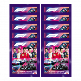 F1 Stickers 2021 - Packet Bundle