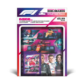 F1 Stickers 2021 - Starter Pack