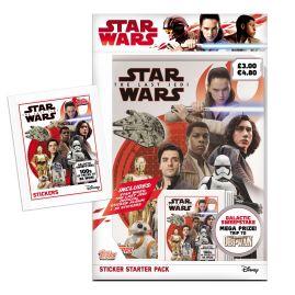 Star Wars The Last Jedi Sticker Collection