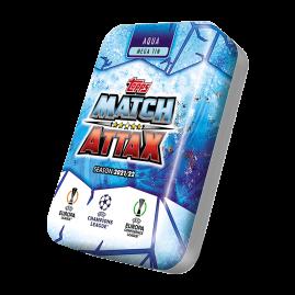 Topps Match Attax 21/22 - Aqua Mega-Sammeldose