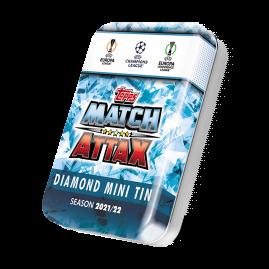 Topps Match Attax 21/22 - Diamant Mini-Sammeldose