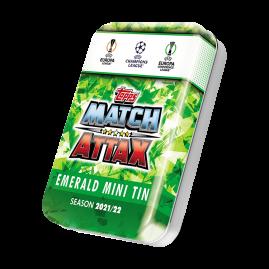 Topps Match Attax 21/22 - Smaragd Mini-Sammeldose