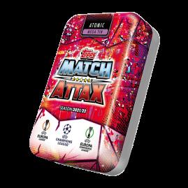 Match Attax 21/22 - Lata de coleccionista Atómica
