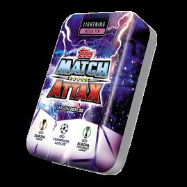 Match Attax 21/22 - Lata de coleccionista Lightning
