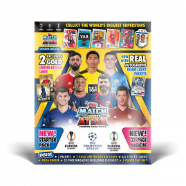 Match Attax Football trading cards Trading card binders Collectible tins