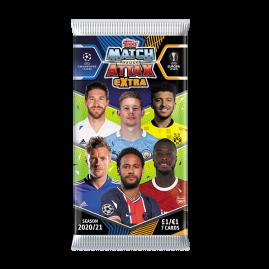 Match Attax Extra 2021 - 7er-Kartenpäckchen