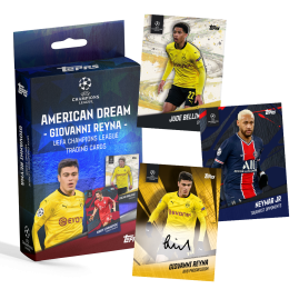 Gio Reyna Curated Set – The American Dream - Topps DE