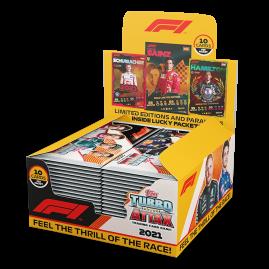 F1 Turbo Attax 2021 - Full Box