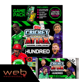 The Hundred - Cricket Attax 2021 - Game Pack with Free Packet!