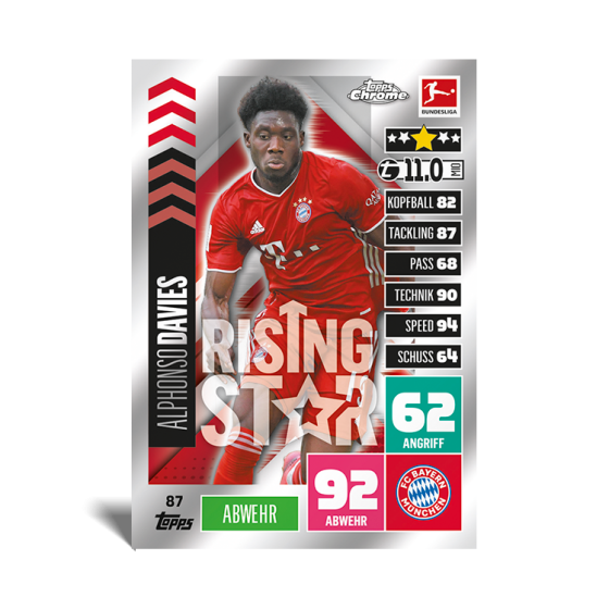2020/21 Topps® Bundesliga Match Attax Chrome - UK